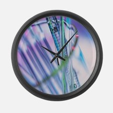 Pipettes - Large Wall Clock