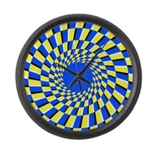 Peripheral drift illusion - Large Wall Clock