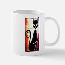 Black Cat Diva Mug