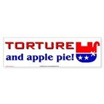 Torture - and apple pie!