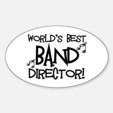 Worlds Best Band Director Decal