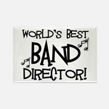 Worlds Best Band Director Rectangle Magnet