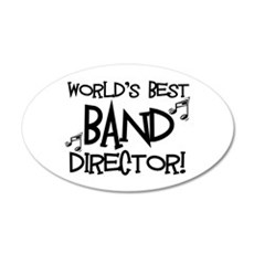 Worlds Best Band Director Wall Decal