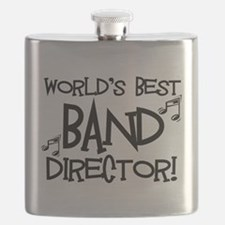 Worlds Best Band Director Flask