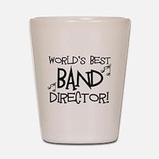 Worlds Best Band Director Shot Glass