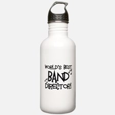 Worlds Best Band Director Water Bottle