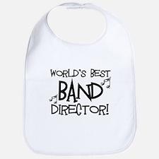 Worlds Best Band Director Bib