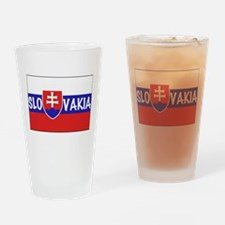 Slovakia Drinking Glass
