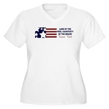 thank you bumper sticker.jpg Plus Size T-Shirt