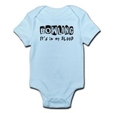 Bowling Designs Infant Bodysuit