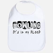 Bowling Designs Bib