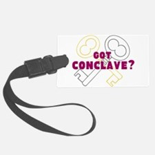 got Conclave? Luggage Tag