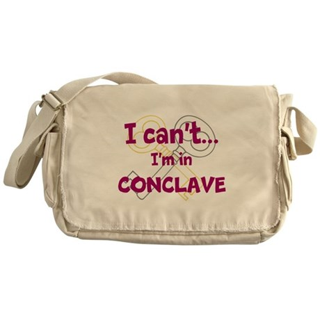 I cant...Im in Conclave Messenger Bag