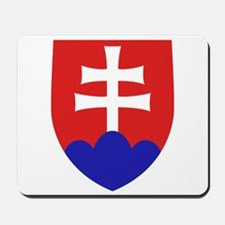 Slovakia Coat of Arms Mousepad