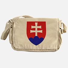 Slovakia Coat of Arms Messenger Bag