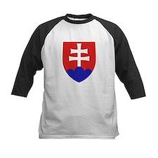 Slovakia Coat of Arms Baseball Jersey