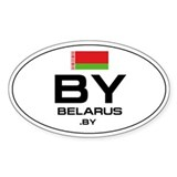 Belarus car decal Single