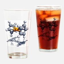 Ferrocene molecule - Drinking Glass