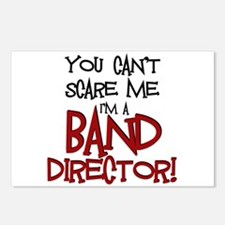 You Cant Scare Me...Band Postcards (Package of 8)