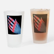 Knuckle pain, conceptual artwork - Drinking Glass