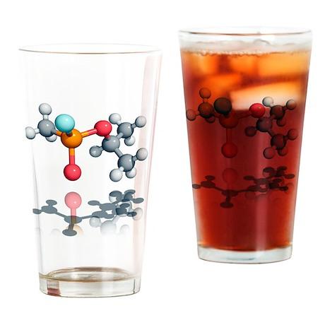 Sarin nerve agent molecule - Drinking Glass
