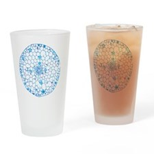 Waterweed stem, light micrograph - Drinking Glass