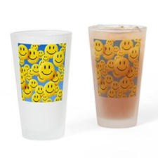 Smiley face symbols - Drinking Glass