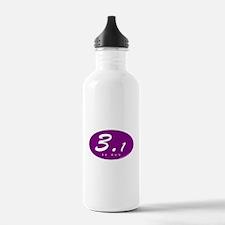 Purple Oval 3.1 Water Bottle