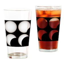 Solar eclipse - Drinking Glass