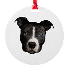 Pit Bull Ornament