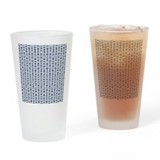DNA sequences - Drinking Glass