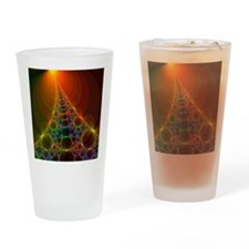 Fractal, artwork - Drinking Glass