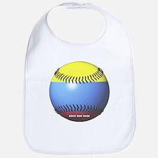 Colombia Baseball Bib