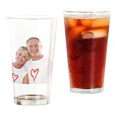 Happy senior couple - Drinking Glass