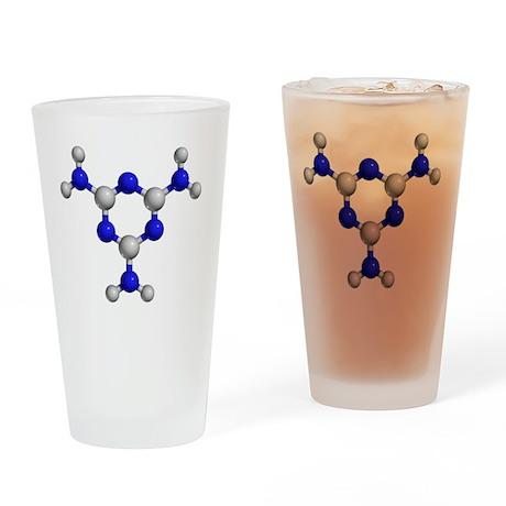 Melamine molecule - Drinking Glass