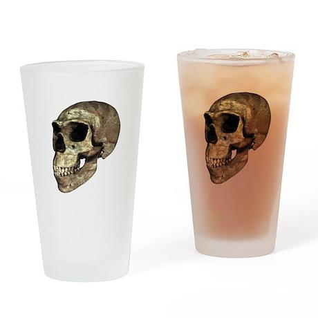 Neanderthal skull - Drinking Glass