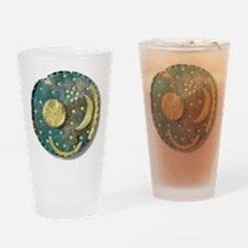 Nebra sky disk, Bronze Age - Drinking Glass