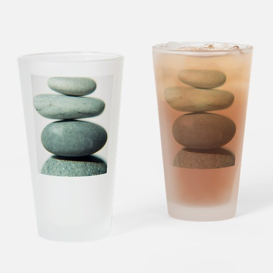 Stacked pebbles - Drinking Glass
