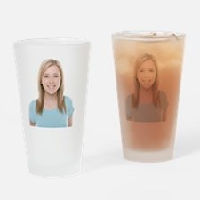 Teenage girl - Drinking Glass