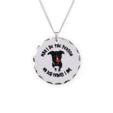 May I Be the Person Necklace