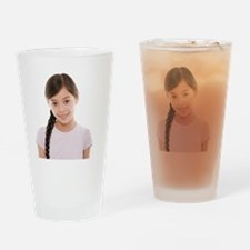 Young girl - Drinking Glass