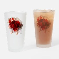 Blood stained tissue - Drinking Glass