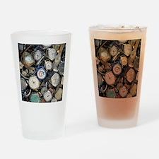 Broken wrist-watches - Drinking Glass