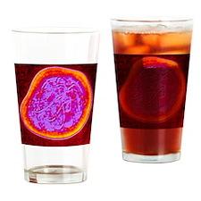 measles) virus - Drinking Glass