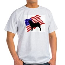 Pug Ash Grey T-Shirt
