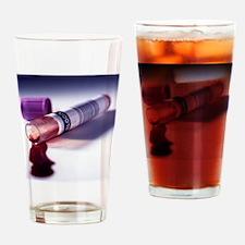 Blood sample - Drinking Glass