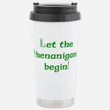 Let the Shenanigans Begin Travel Mug