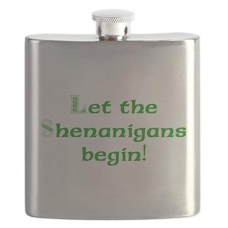 Let the Shenanigans Begin Flask