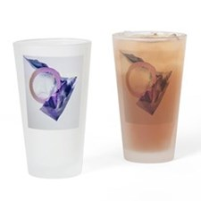 Rolled-up condom - Drinking Glass