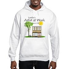 Artist at Work Shop Hoodie